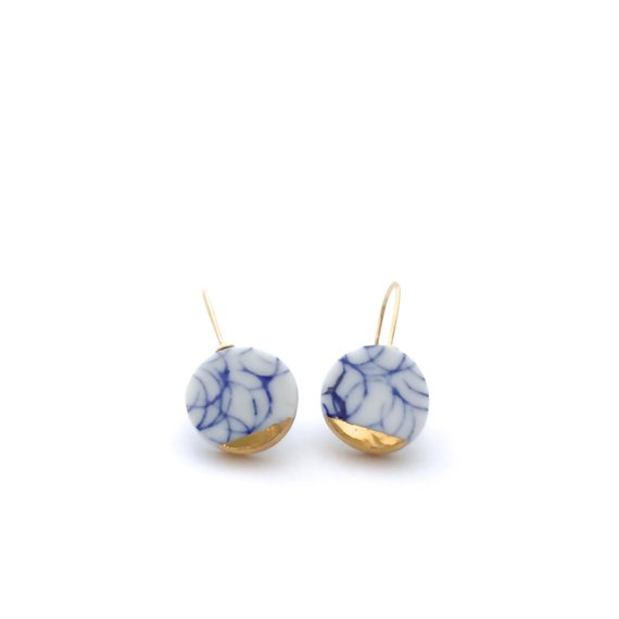 9 Gifts for the Sister You Can't Live Without - Ceramic Earrings by Stuck in the Mud Pottery