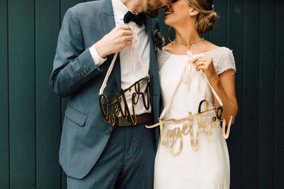 11 Signs for your Wedding Day Chairs - Signs by Happily Ever Etched Inc
