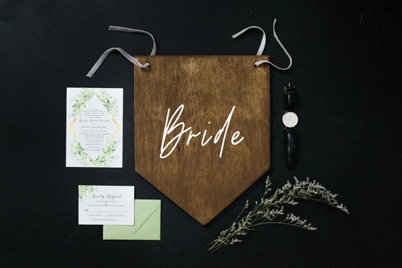 11 Signs for your Wedding Day Chairs - Signs by Threads and Ropes Co