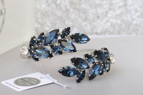 Blue Wedding Bracelet