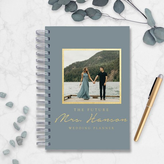 10 Wedding Planners to Keep Your Sanity - Planner by Print Cafe Guest Books - #weddings #weddingplanning #weddingplanners