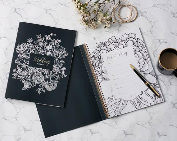 10 Wedding Planners to Keep Your Sanity - Planner by Two Little Possums - #weddings #weddingplanning #weddingplanners