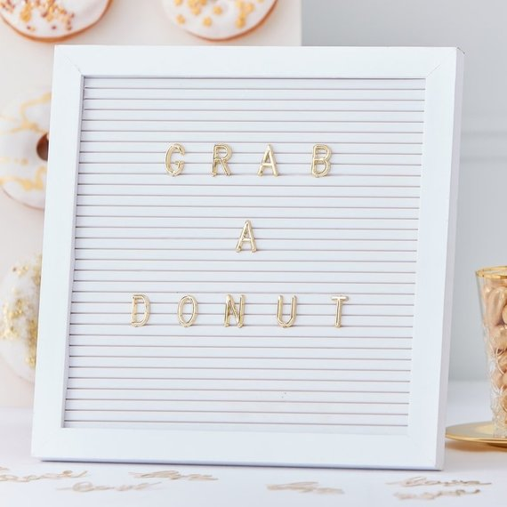 10 Letter Boards to Welcome Your Wedding Guests - Board by Hooray Days - #weddings #guests #letterboard #weddingdecor