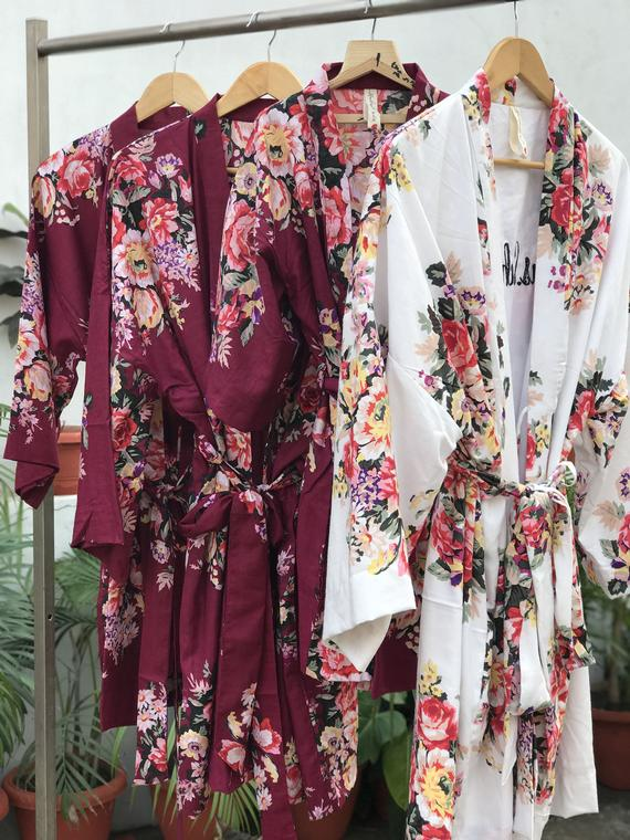 Planning a Burgundy & Dusty Blue Wedding - Robes by Mono Robes - #wedding #maroonwedding #dustybluewedding