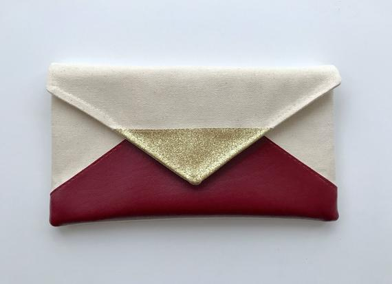 Planning a Burgundy & Dusty Blue Wedding - Clutch by This Loves That - #wedding #maroonwedding #dustybluewedding