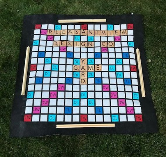 Yard Game Ideas to Keep Your Guests Smiling - Game by Pleasantview Design Co - #weddinggames #yardgames #weddings