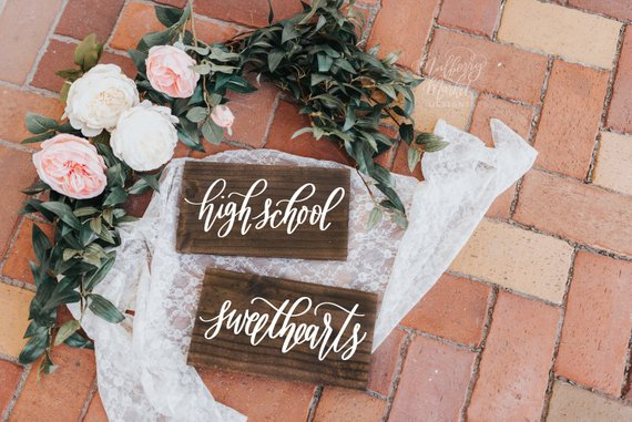 11 Signs for your Wedding Day Chairs - Signs by The Branding Post