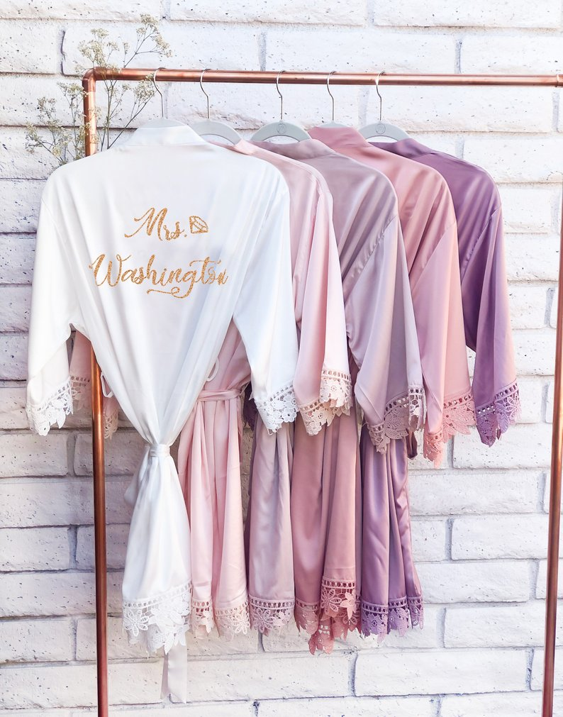 15 Robes for your Bridesmaids - Robe by Poppylove Petal - #bridesmaids #wedding #bridesmaidsrobes