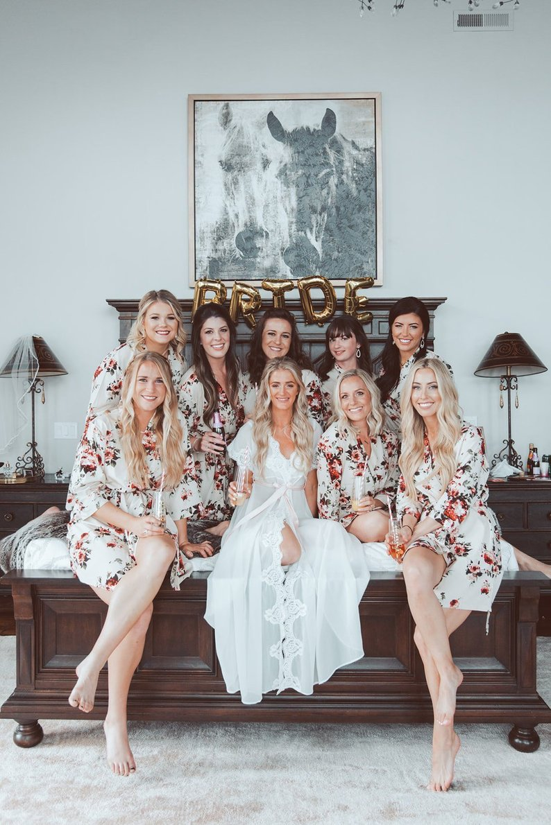 Robes For Your Bridesmaids Tabitha Lace