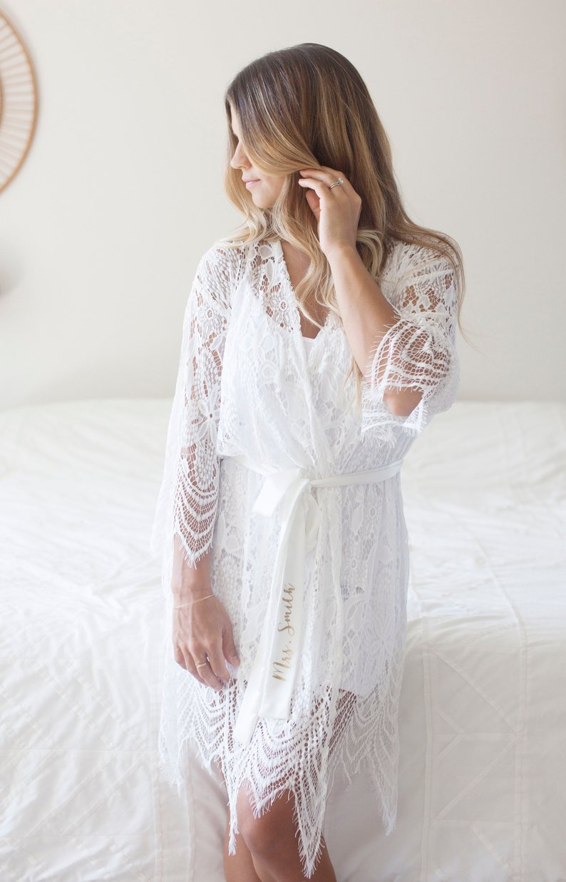 15 Robes for your Bridesmaids - Robes by Fig and Vine - #bridesmaids #wedding #bridesmaidsrobes