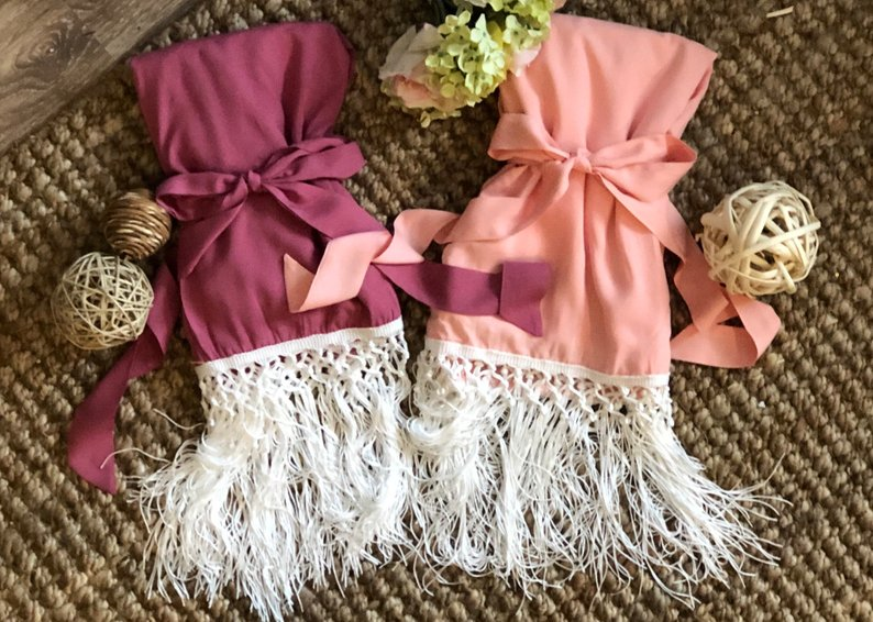 15 Robes for your Bridesmaids - Robes by Shop on Eleven - #bridesmaids #wedding #bridesmaidsrobes