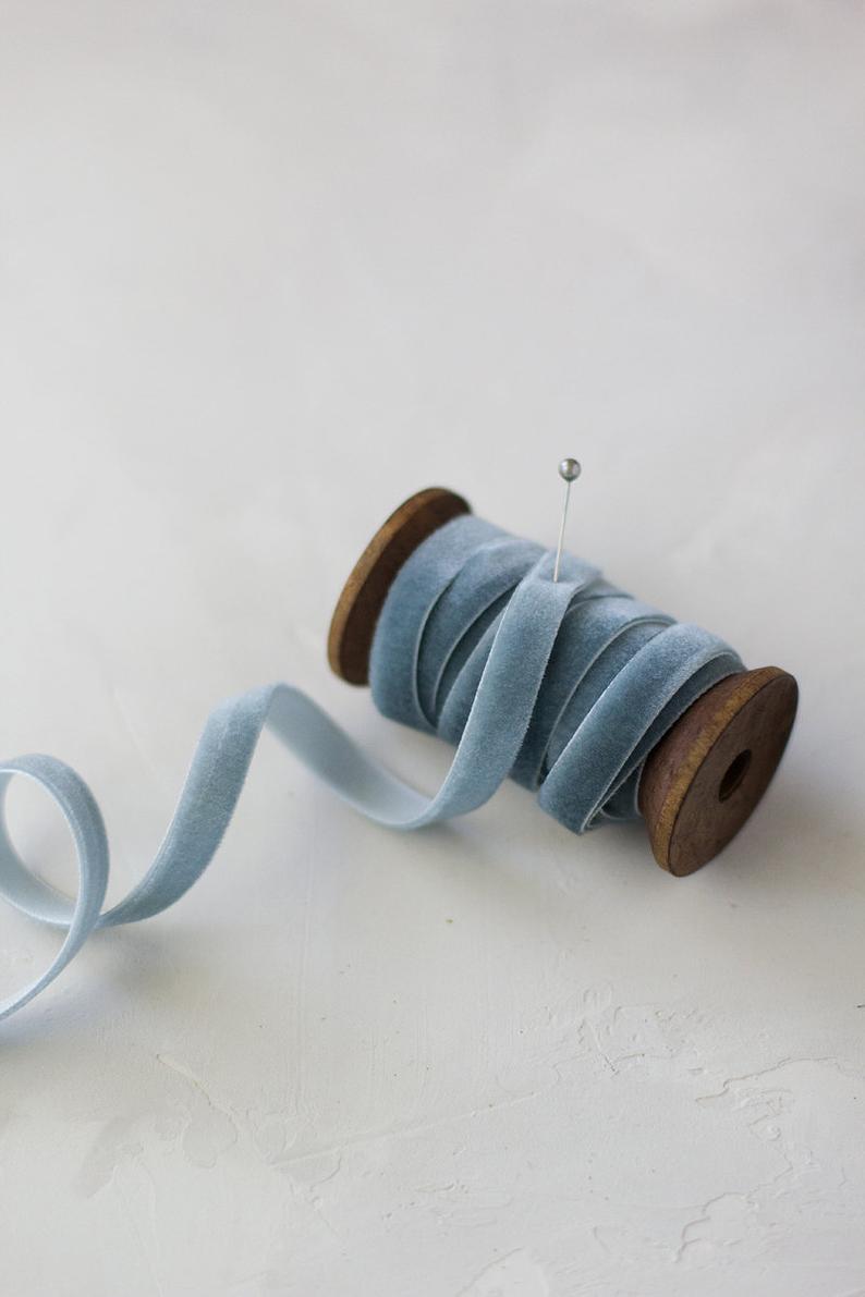Velvet Wedding Details to Gush Over - Ribbon by Anastasia Marie - #wedding #weddingdetails #velvet