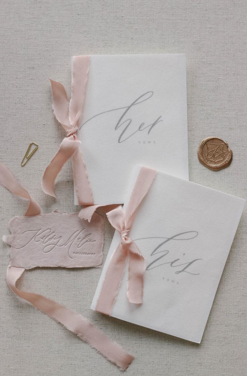 Velvet Wedding Details to Gush Over - Vow Books by Kelsey Malie - #wedding #weddingdetails #velvet