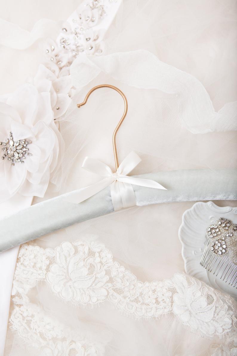 Velvet Wedding Details to Gush Over -Hanger by Griffins Nest Co - #wedding #weddingdetails #velvet