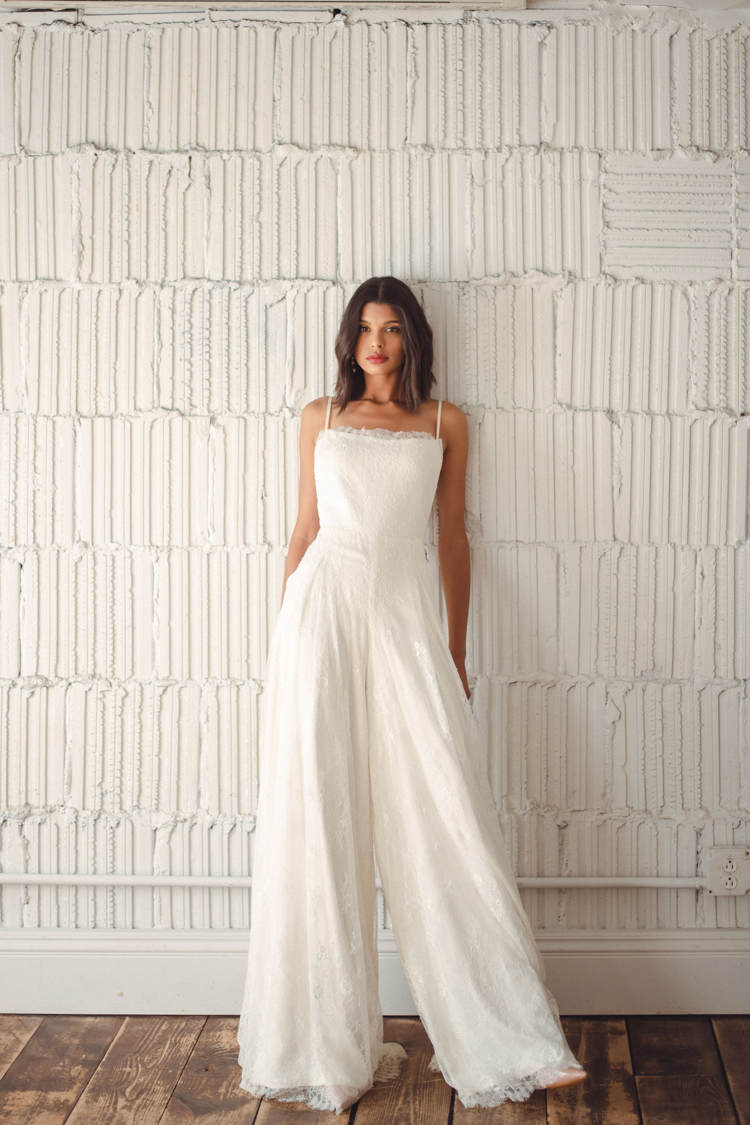 The Up and Coming Trend: Bridal Jumpsuits - Jumpsuit from Rent the Runway - #weddings #bridal #jumpsuit #bridaljumpsuit
