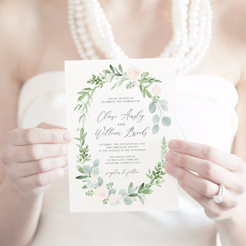 How to Put Together a Neutral Wedding - Invite by Primrose Paper Studio - #weddings #neutralweddings #weddingdecor