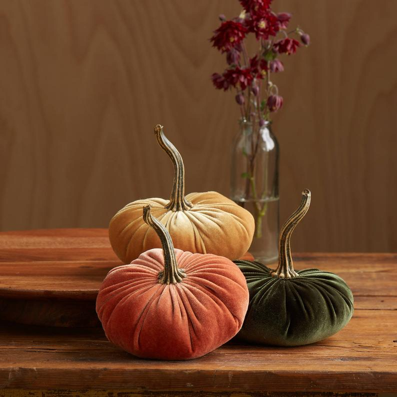 velvet pumpkins fall wedding