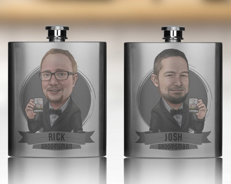personalized groomsman gift