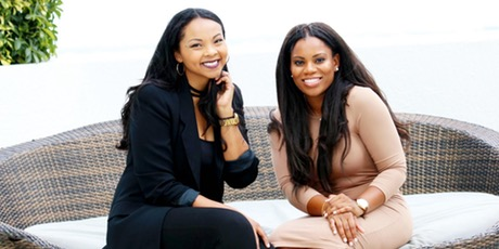 Tracy Timberlake and Vivian Olodun founders of Flourish Media Conference .