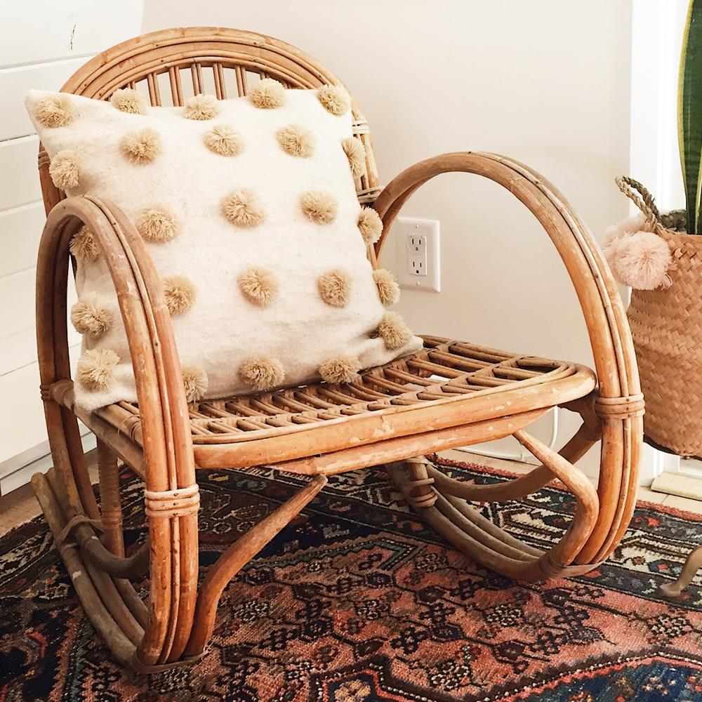 Sand Pompom Pillow :: Xinh & Co.