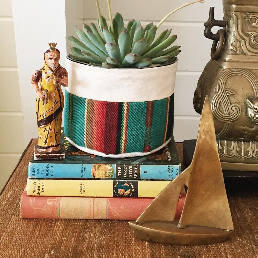 Canvas Planter :: Good Company Wares