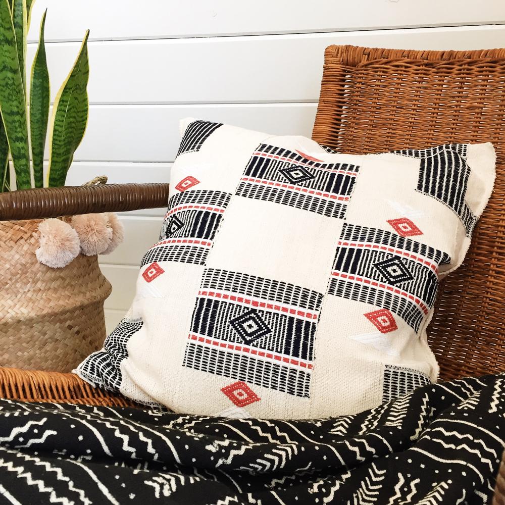 Waraniéné Pillow :: Five | Six Textiles