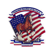 Presented by the Clydesdale   Breeders of the U.S.A.