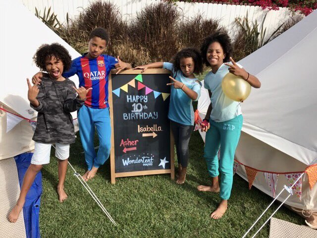 Best glamping Birthday party ever! - Millicent S.Mother of 10-year-old twins.