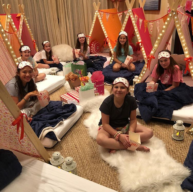 Best Birthday Party Ever! - Cara S. Mom to 12 year-old twins, Kate & Phoebe.