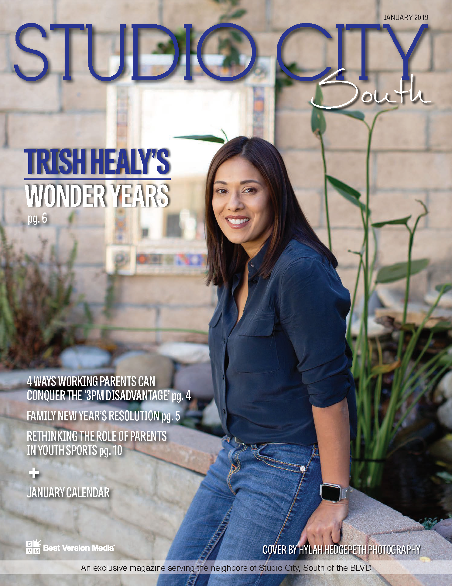 Cover story in studio city south magazine - CLICK TO VIEW