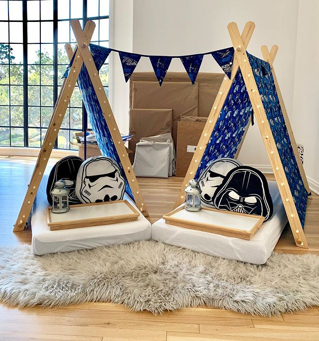 The SleepOver is strong with this one! ✨  Our Star Wars inspired SleepOver is a hit with Rebels of all ages. With Star Wars WonderTents and unique accent cushions, a galaxy far, far away is now within reach. ✨  On the weekend Mia celebrated her 10th Birthday with a very special Parisian Nights SleepOver with her besties. And to make sure her brother didn't miss out, Mom had a special delivery of our Star Wars themed WonderTents hyperspaced in. How cute is that! 💖  Swipe to explore both our Star Wars and Parisian Nights theme. 🌟  #wondertentparties #paris #starwars #sleepover #slumberparty #sleepoverideas #birthday #thisis10 #birthdayideas #doubledigits #parisianstyle #instastyle #wonder #wondertent #losangeles #orangecounty #socal #westwood #templecity #gardengrove #shermanoaks #pacificpalisades #beverlygrove #manhattanbeach
