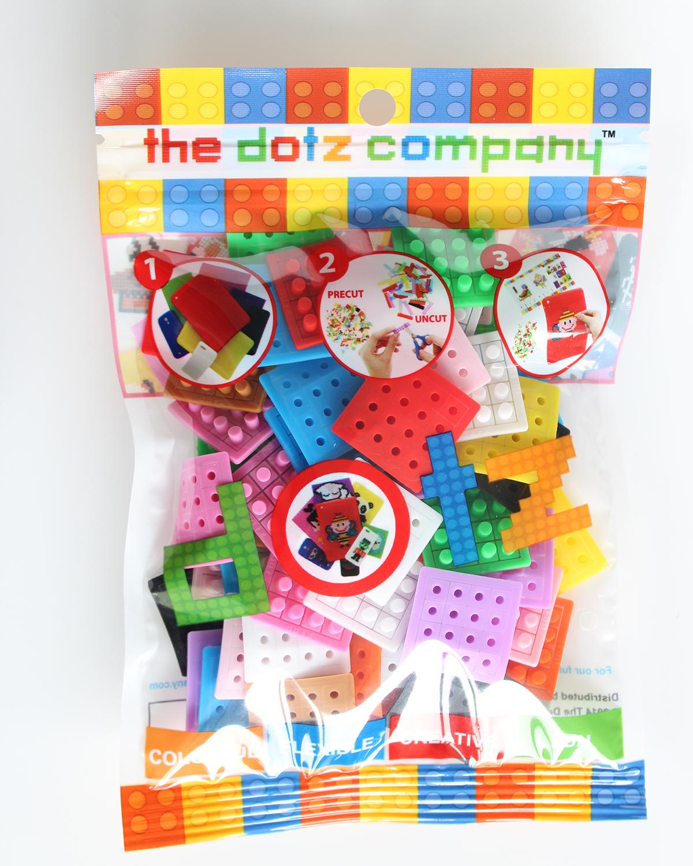 36 dotzBLOK Mixed Pack. 3 of 12 colors