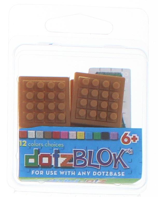 8 dotzBLOKs: Brown