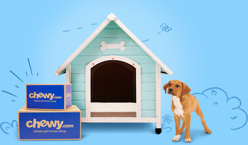 You Shop, We Donate - Chewy.com is dedicated to supporting non-profit organizations that help animals in need. For every new customer purchase through this site, Chewy.com will donate $20 to Lucky Lab Rescue and Adoption!