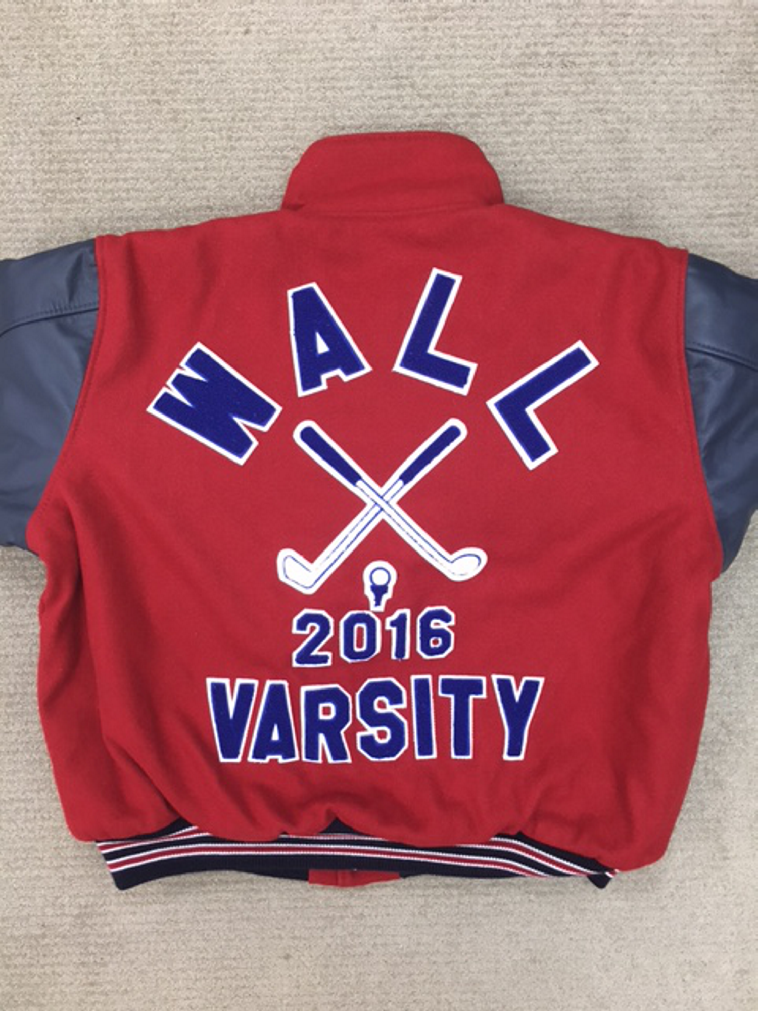 Wall High School Varsity Golf Jacket