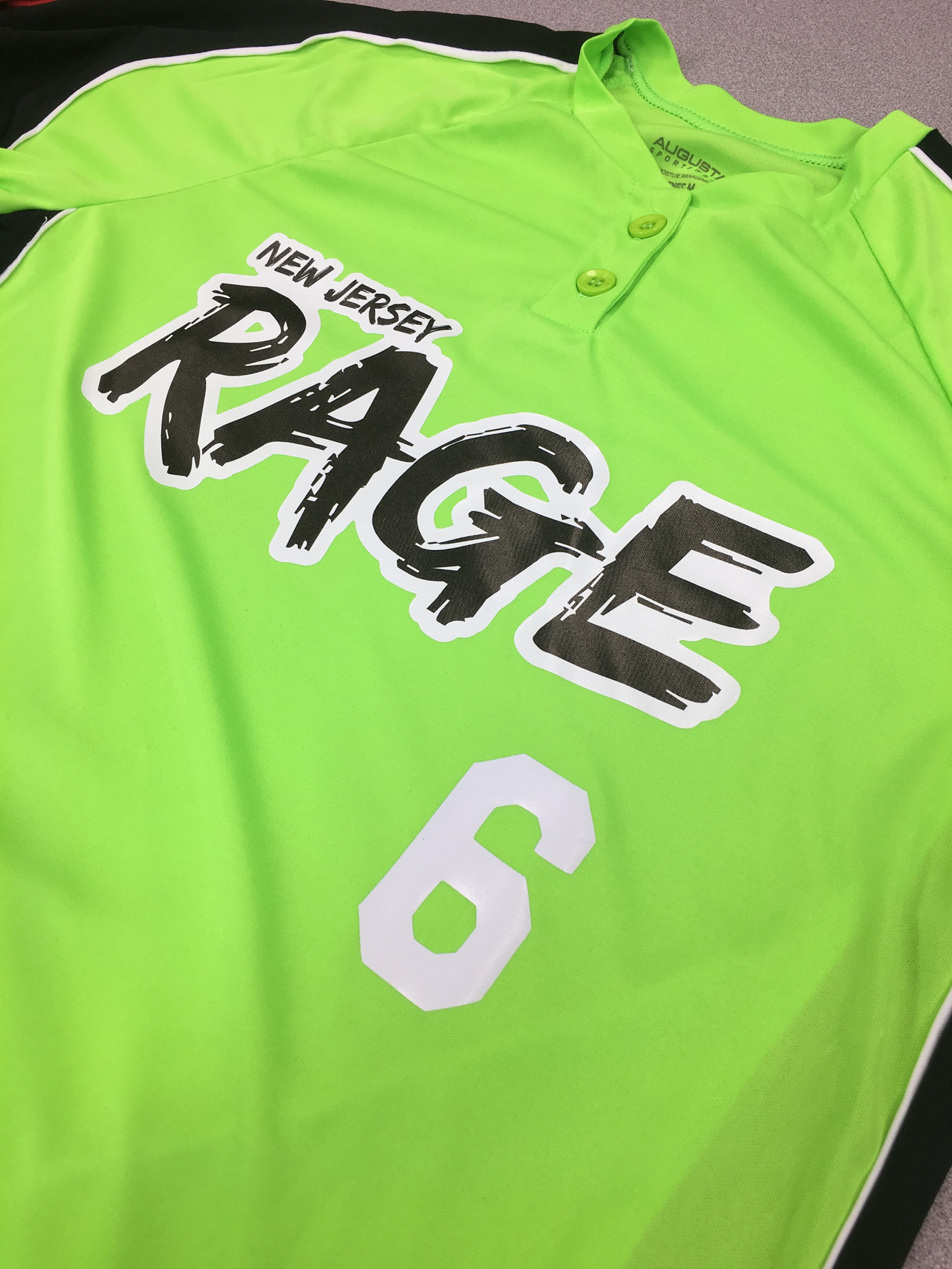 NJ Rage Softball Jersey
