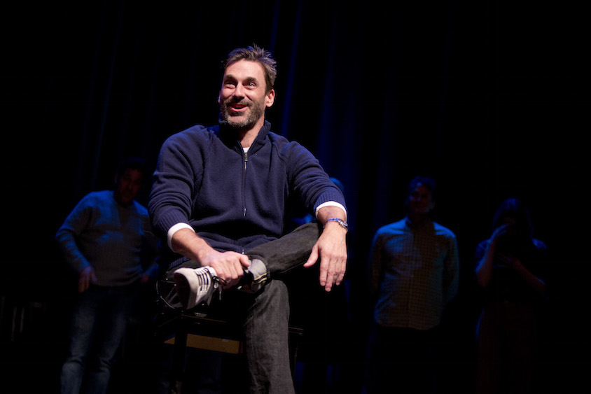 Jon Hamm at Theme Park at SF Sketchfest, January 28, 2017. Photo by Tommy Lau.