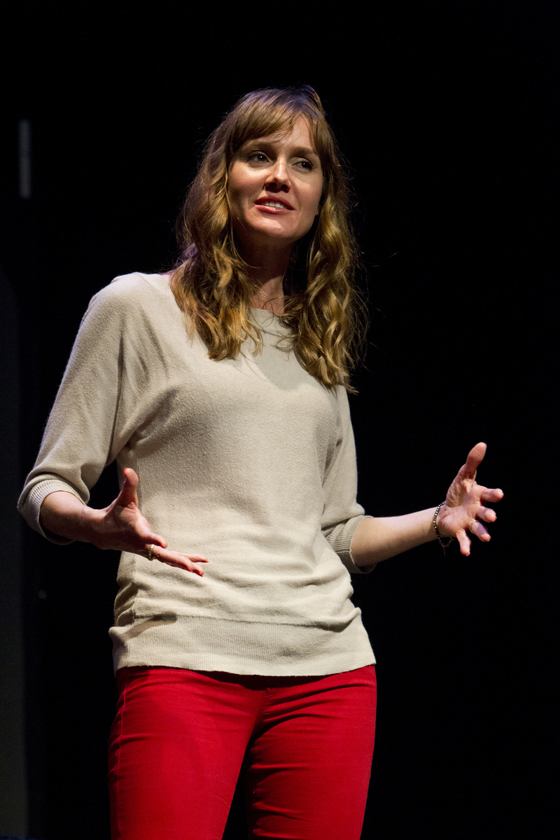 Erinn Hayes at Theme Park Improv at SF Sketchfest, February 9, 2013. Photo by Jakub Mosur.