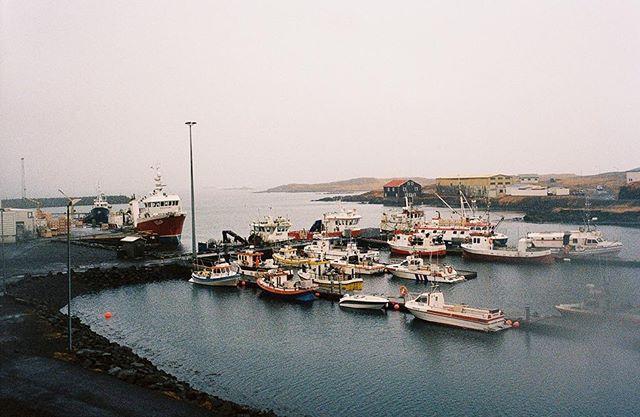 Iceland. Winter harbor. . . . . . #traveliceland #traveler #roadtrip #filmphotography #filmisnotdead #minox #kodak #kodakportra #offseason