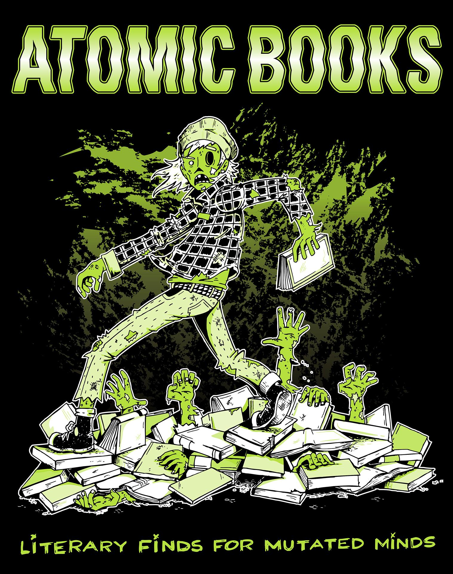 Atomic Books Poster
