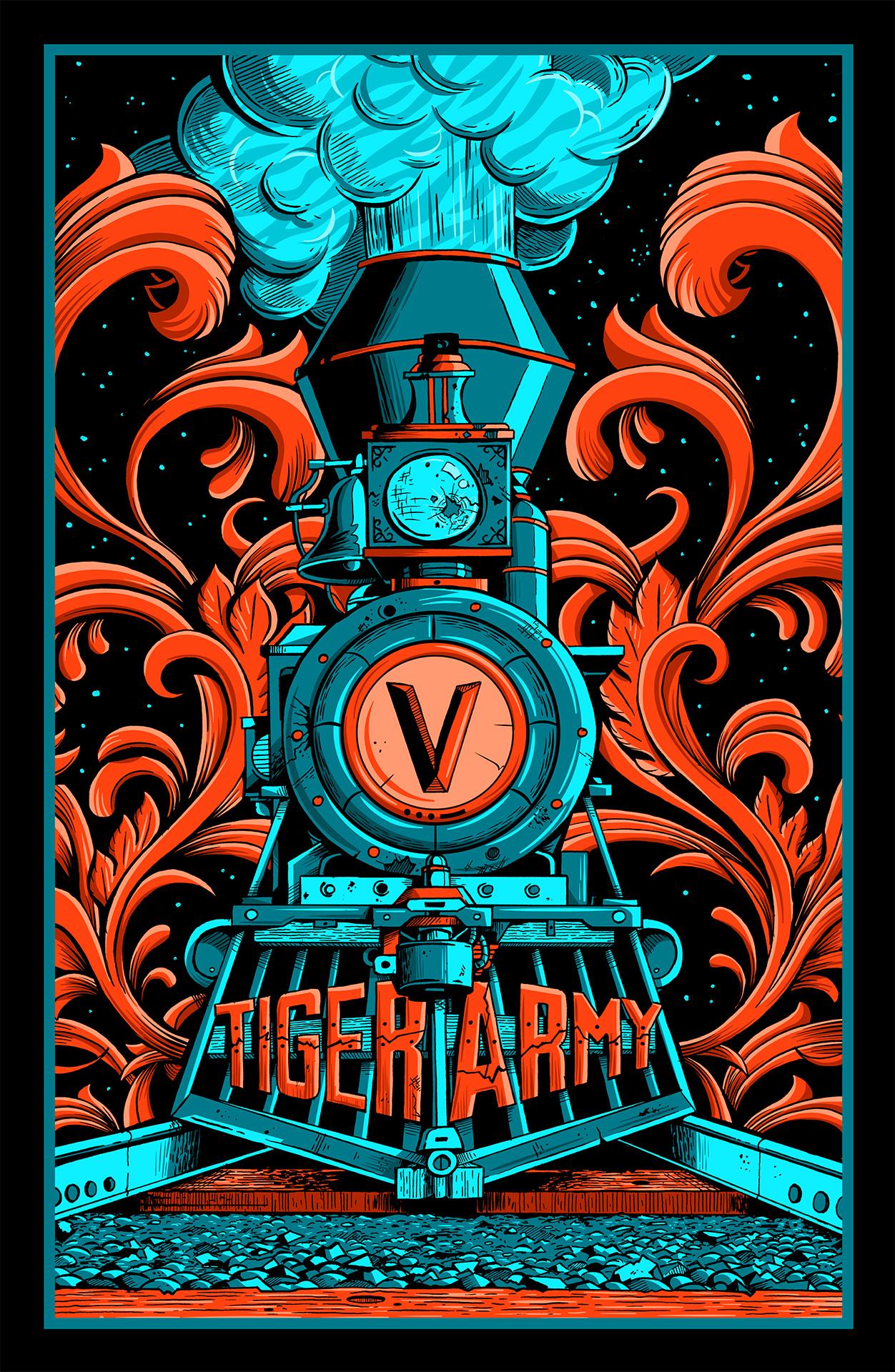 Tiger Army / Train to Eternity