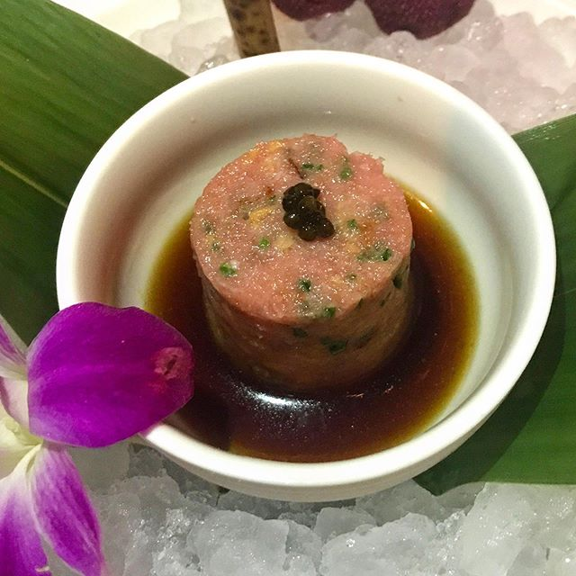 #toro #tartare from @chef_morimoto. One of the best tartare's I've ever had!