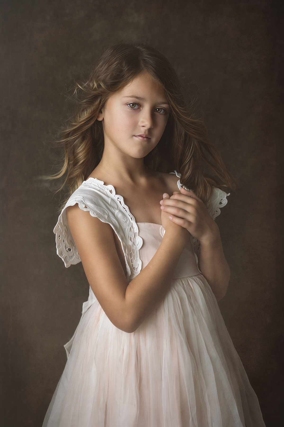young girls portrait