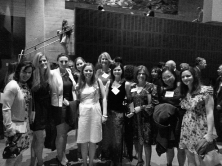 June 2013: Suzelle M. Smith with Howarth & Smith Associates and Guests at the Annual Gabriella Anniversary Ballet