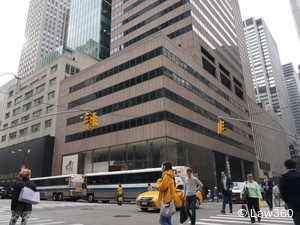 Victims of Iranian-sponsored terrorism seek compensation from the sale of the office tower at 650 Fifth Ave. in New York. (Credit: M. Lebetkin)