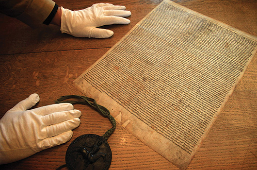 Salisbury Cathedral's Magna Carta