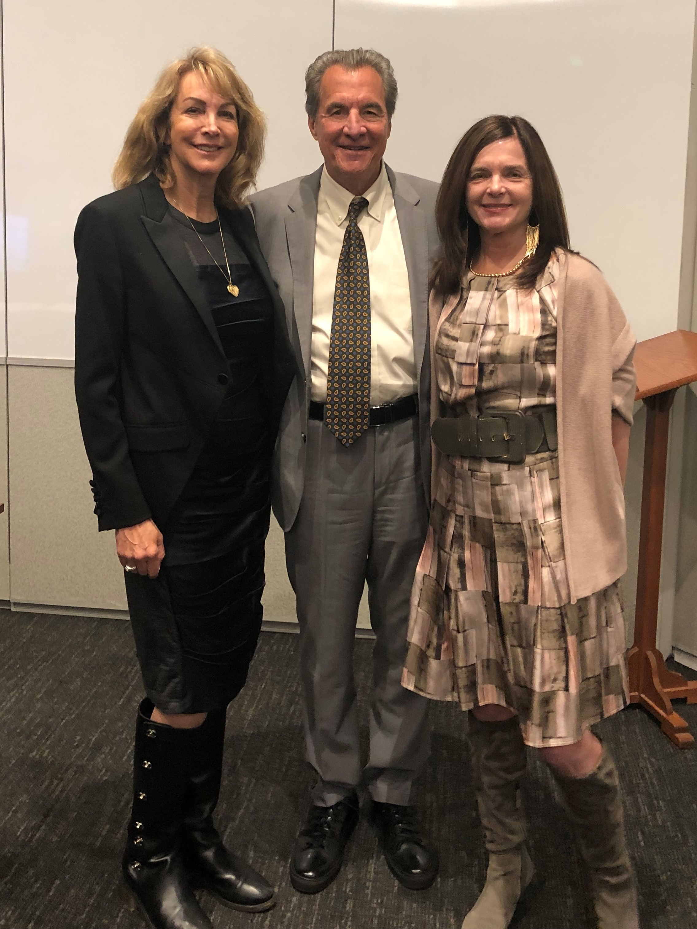 "Terry Adamson, Don Howarth, and Suzelle Smith  March 28, 2019, Pepperdine Law School ABTL Panel Presentation, ""Post Law School Career Options – Big Firms, Boutiques, Government Service, Judgeships and More!"""