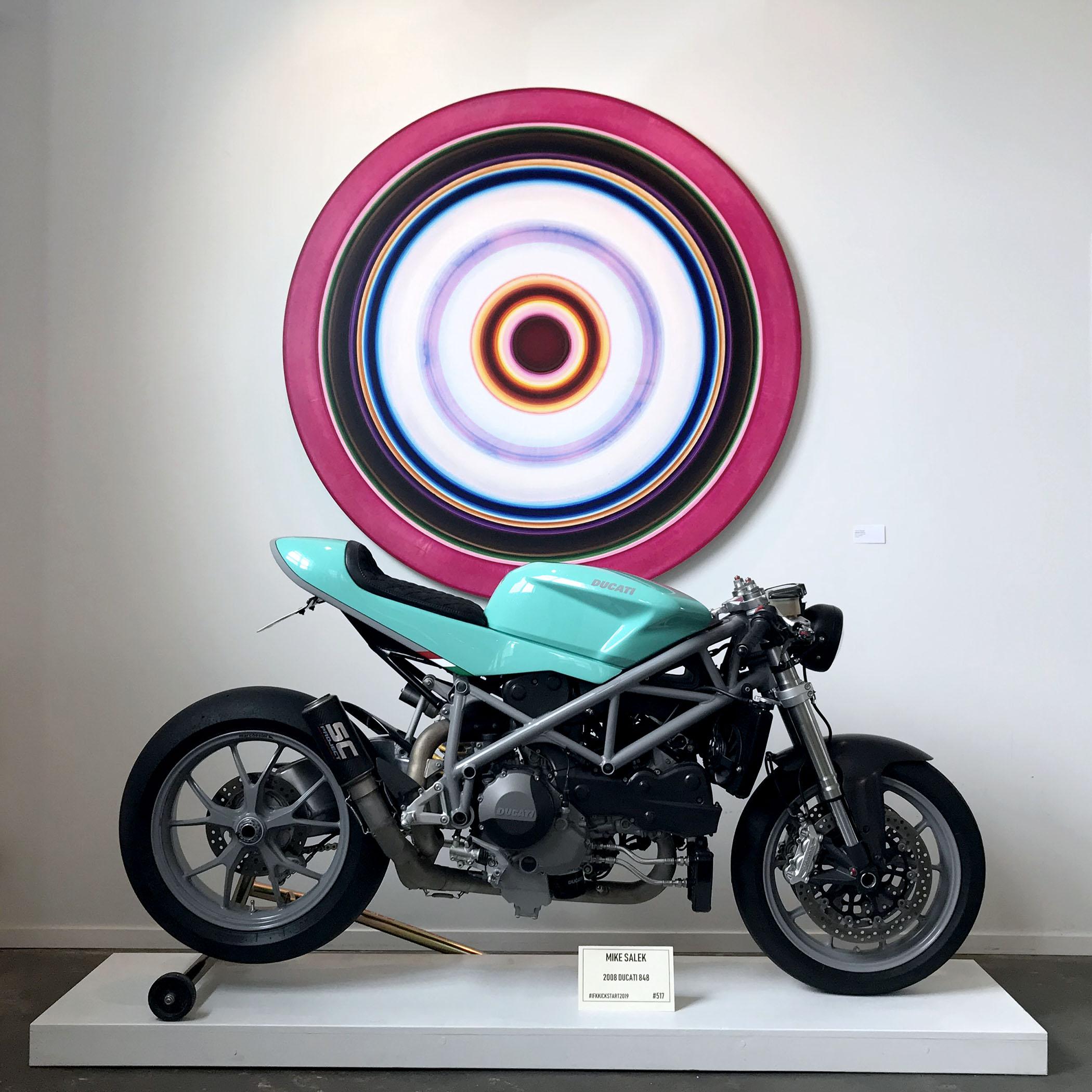 ARTWORK:  Ulrich Panzer  / BIKE: Mike Salek