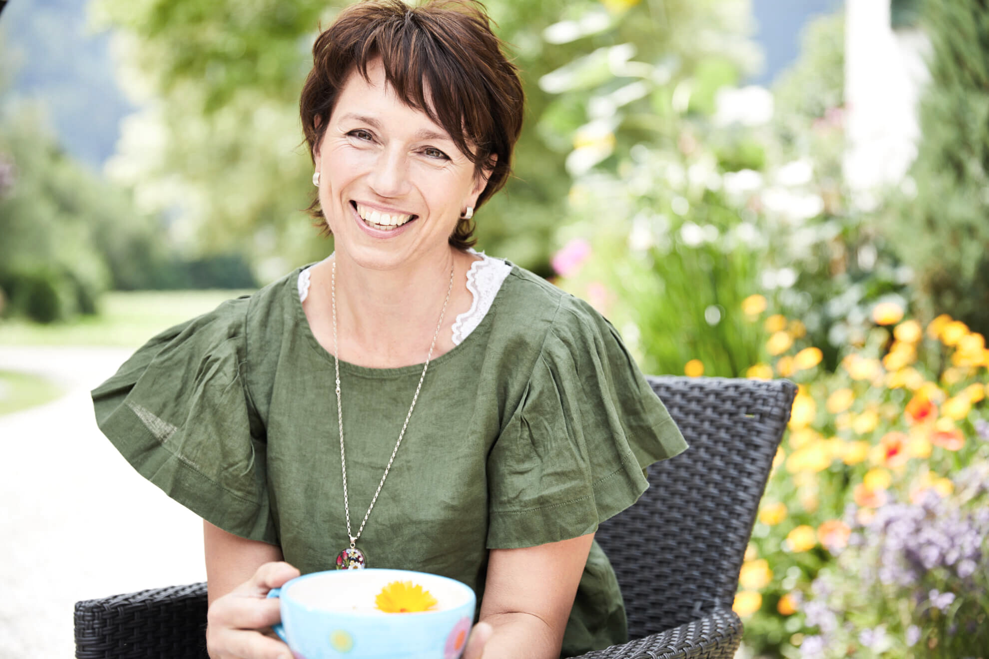 Margot Bechteler – Geschäftsinhaberin und Yogalehrerin