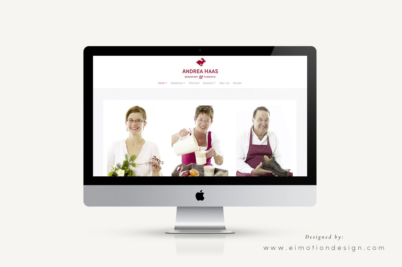 Wordpress Webdesign made by eimotiondesign.com
